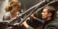 "This image released by Summit Entertainment shows Shailene Woodley, left, and Theo James in a scene from ""Divergent."" (AP Photo/Summit Entertainment, Jaap Buitendijk)"